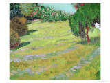 Field in Sunlight, c.1888 Giclee Print by Vincent van Gogh