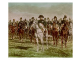 Napoleon I and His Staff, circa 1860 Giclee Print by Jean-Louis Ernest Meissonier