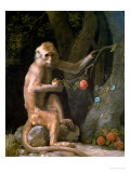 Portrait of a Monkey Dated 1774 Giclee Print by George Stubbs