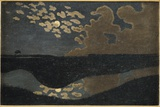Moonlight, 1894 Reproduction proc&#233;d&#233; gicl&#233;e par F&#233;lix Vallotton