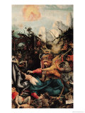 Temptation of St. Anthony, from the Isenheim Altarpiece, circa 1512-16 Giclee Print by Matthias Grünewald