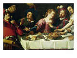 The Meal Giclee Print by Theodor Rombouts