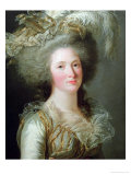 Elisabeth of France Called Madame Elisabeth, 1788 Giclee Print by Adelaide Labille-Guiard