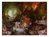 Aeneas and the Sibyl in the Underworld, 1598 Giclee Print by Jan Brueghel the Elder