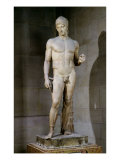 The Ares Borghese, from an Original Dating to circa 430-415 BC, 125 AD Lámina giclée
