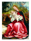 The Virgin and Child, from the Isenheim Altarpiece, circa 1512-16 Giclee Print by Matthias Grünewald