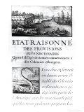 """Frontispiece to """"L'Etat Raisonne"""" Giclee Print by Sebastien Le Pretre de Vauban"""