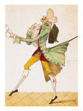 Place! Place!, Caricature of the Returning Emigrants, 1815 Giclee Print