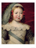 Portrait of Louis XIV as a Child, circa 1641-42 Giclee Print by Claude Deruet