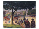 The Palais Rose, Paris Giclee Print by Jules Ernest Renoux