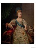 Louis XV as a Child, 1714 Giclee Print by Pierre Gobert
