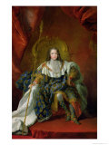 Louis XV 1723 Giclee Print by Alexis Simon Belle