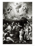 The Transfiguration, circa 1519-20 Reproduction proc&#233;d&#233; gicl&#233;e par Raphael 