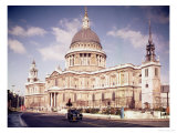 View of the Exterior, Built 1695-1711 Giclee Print by Christopher Wren