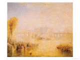 View of the Pont Neuf, Paris Giclee Print by William Turner