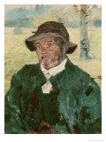 An Old Man, Celeyran, 1882 Giclee Print by Henri de Toulouse-Lautrec