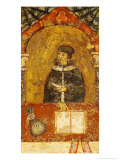 Cardinal Ildebrandino Paglieresi at His Desk, 1264 Giclee Print by Diotisalvi Or Dietisalvi De Speme 