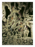 Lintel with Shiva Nataraja, Kakatiya Dynasty Giclee Print