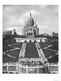 Basilica of Sacre-Coeur, Montmartre, 1876-1910 Giclee Print by Paul Abadie