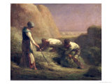The Hay Trussers, 1850-51 Giclee Print by Jean-François Millet
