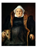 Portrait of an Elderly Woman Or, the Falconer's Wife, 1558 Giclee Print by Frans Floris