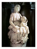 Madonna and Child Giclee Print by  Michelangelo Buonarroti