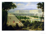 The Orangery at Versailles Giclee Print by Pierre-Denis Martin