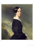 Portrait of Francisca Caroline de Braganca 1844 Giclee Print by Franz Xavier Winterhalter