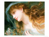 Head of a Nymph Giclee Print by Sophie Anderson