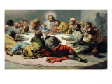 The Last Supper, 1796-97 Giclee Print by Francisco de Goya