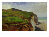 Cliffs Giclee Print by Louis Eugene Gabriel Isabey