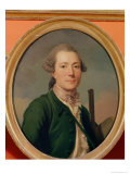 Count Pierre-Francois de Cluzel in Hunting Dress Giclee Print by Alexander Roslin