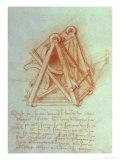 Design Giclee Print by  Leonardo da Vinci