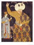 Portrait of Sultan Selim II Firing a Bow and Arrow Giclee Print by Nakkep Reis Haydar