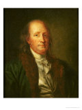 Portrait of Benjamin Franklin Giclee Print by George Peter Alexander Healy