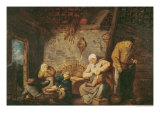 The Toilet Giclee Print by Adriaen Jansz. Van Ostade