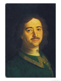 Portrait of Peter the Great Giclee Print by Ivan Nikitich Nikitin