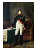 Portrait of Napoleon Bonaparte 1809 Giclee Print by Robert Lefevre