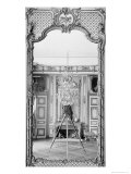 Photograph of a Mirror at the Chateau de Versailles with the Reflection of Giraudon's Camera Giclee Print by Adolphe Giraudon