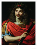 "Moliere in the Role of Caesar in ""The Death of Pompey"" Giclee Print by Nicolas Mignard"
