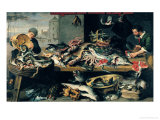 The Fish Market Giclee Print by Frans Snyders Or Snijders