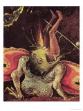 The Last Judgement, Detail of a Man Being Eaten by a Monster, circa 1504 Giclee Print by Hieronymus Bosch