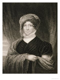 Dolley Madison after a Drawing of the Original by James Herring Giclee Print by Joseph Wood