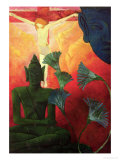 Christ and Buddha, circa 1890-1892 Giclée-Druck von Paul Ranson