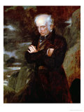 Portrait of William Wordsworth 1842 Giclee Print by Benjamin Robert Haydon