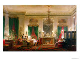 Salon of Princess Mathilde Bonaparte Rue de Courcelles, Paris, 1859 Giclee Print by Charles Giraud