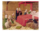 The Birth of the Virgin Giclee Print by Master Of The Life Of Virgin Mary 