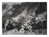 Battle of the Hague, 29th May 1692 1781 Giclee Print by Benjamin West
