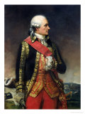Jean-Baptiste de Vimeur Count of Rochambeau Giclee Print by Charles-Philippe Lariviere