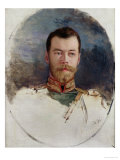 Study for a Portrait of Tsar Nicholas II 1898 Giclee Print by Henri Gervex